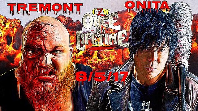 Onita Vs Tremont (No Rope Barbwire Exploding Deathmatch)- Main Event Only
