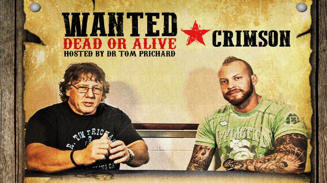 Wanted Dead or Alive Crimson