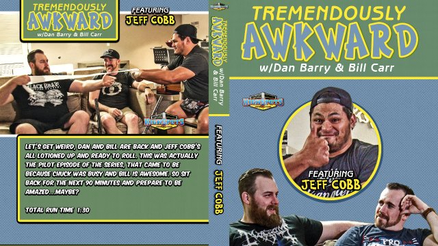 Tremendously Awkward: Jeff Cobb