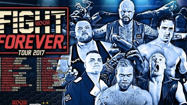 WXW: Fight Forever Tour London (2017)