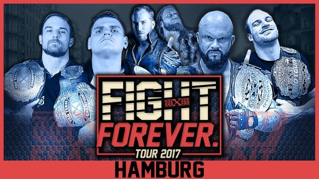 WXW: Fight Forever Tour 2017: Hamburg