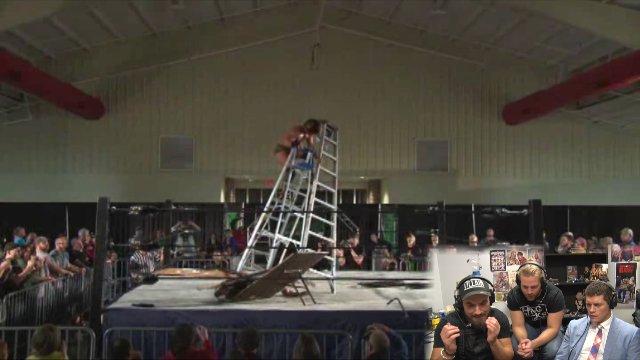 Alt Comm: 4 Way Ladder Match