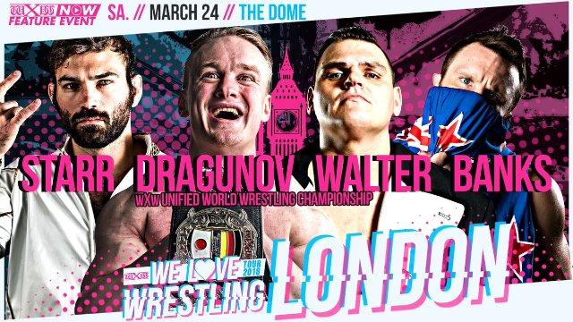 WXW: We Love Wrestling 2018: London