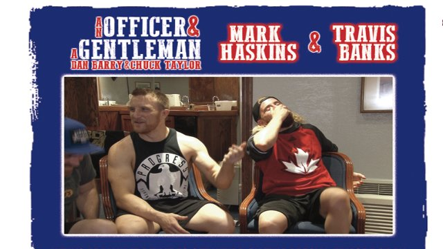 An Officer and A Gentleman Mark Haskins and Travis Banks
