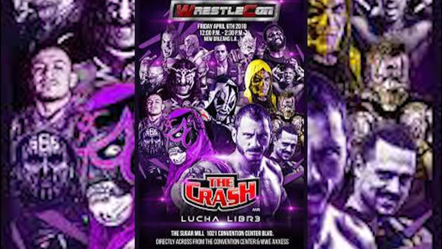 The Crash Luchas: Wrestlecon