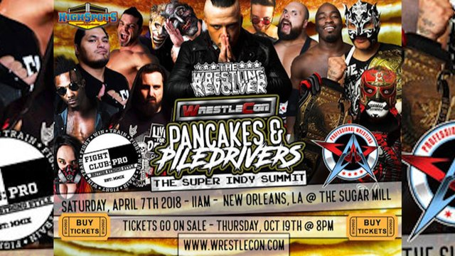 Pancakes and Piledrivers: Wrestlecon