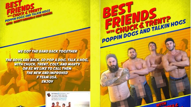 Best Friends: Colt Cabana & Marty Derosa