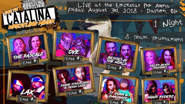 The Wrestling Revolver: Catalina Wrestling Mixer  Vol 2.