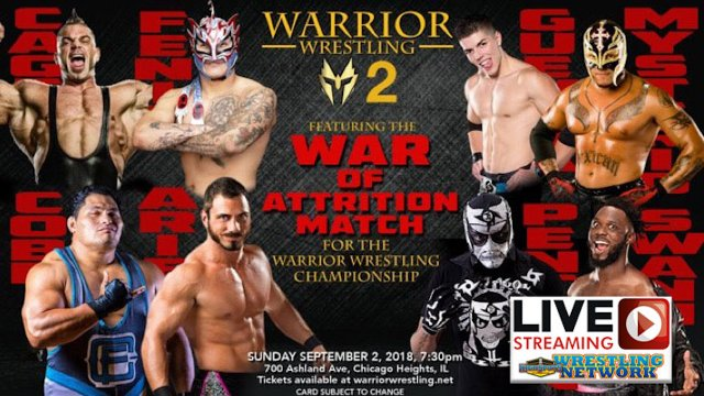 Warrior Wrestling 2 (Live Replay)