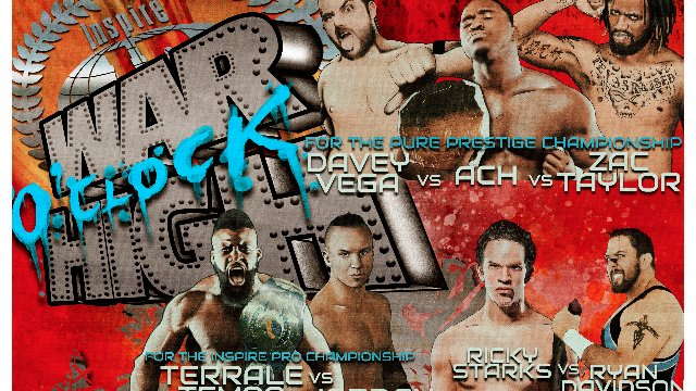 Inspire Pro: War O'Clock High