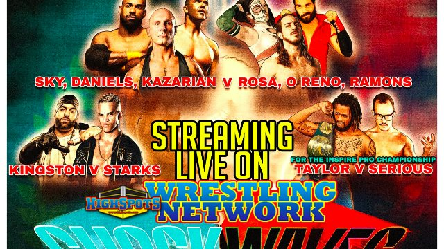Inspire Pro Wrestling: Shockwaves (IPPV Replay)