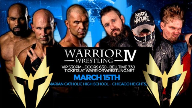 Warrior Wrestling 4 (IPPV REPLAY)