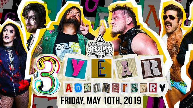 Wrestling Revolver - 3 Year Anniversary
