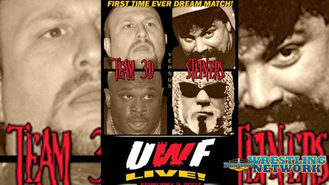 UWF Live: Steiners VS Team 3D (02-03-07)