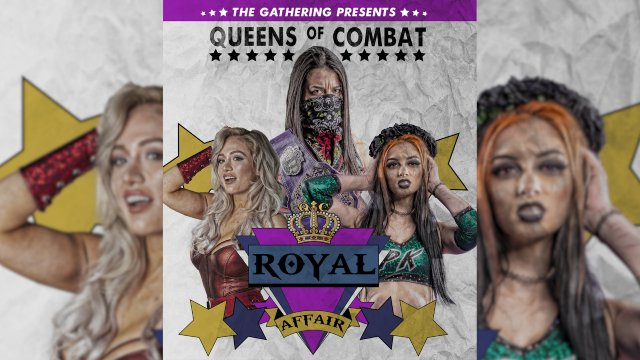 Queens of Combat 36: A Royal Affair