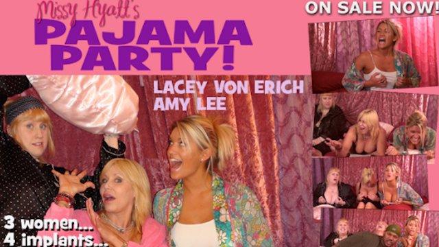 Missy Hyatt's Pajama Party w/ Lacey Von Erich