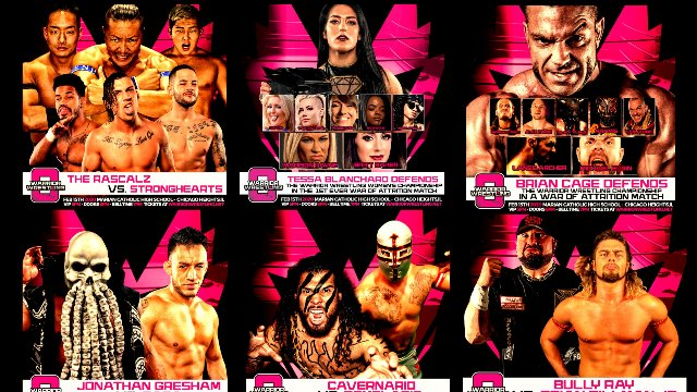 Warrior Wrestling 8 (Live IPPV Replay)