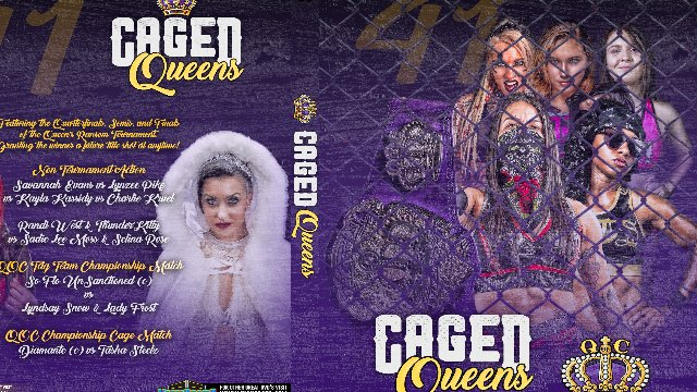 Queens Of Combat 41: Caged Queens