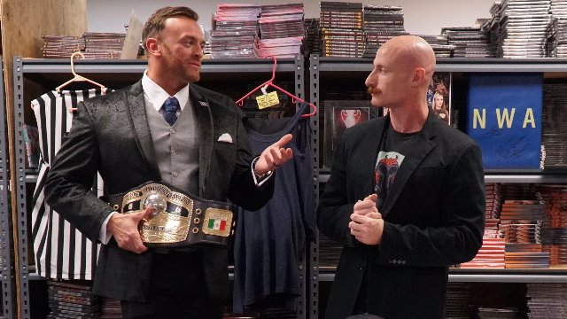Highspots Virtual Gimmick Table: Nick Aldis & George South