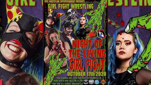 GirlFight Wrestling: Night Of The Living Girlfight