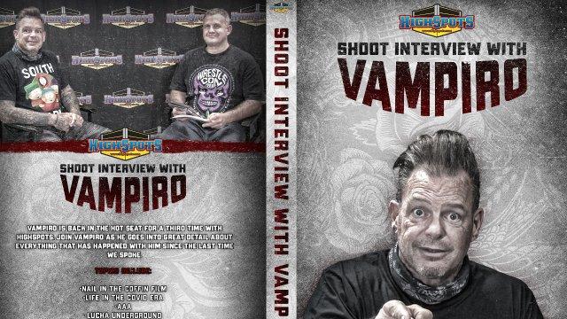 Vampiro Shoot Interview (2020)