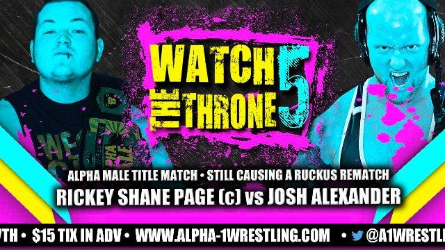 Alpha-1: Watch The Throne 5 (Dec 2017)