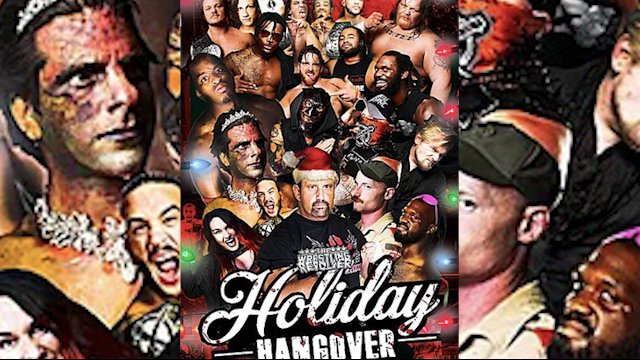 THE WRESTLING REVOLVER - HOLIDAY HANGOVER
