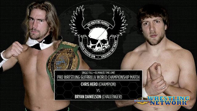 Chris Hero VS Bryan Danielson: PWG World Championship Match