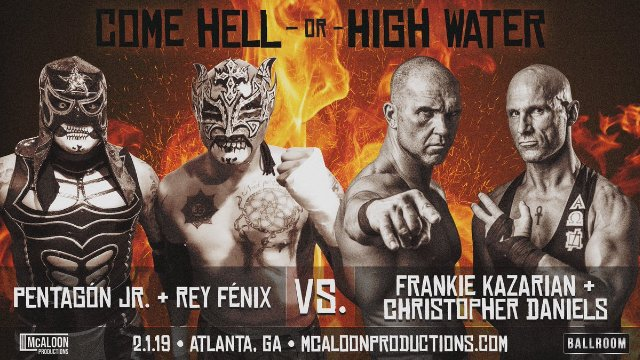 """McAloon Productions presents """"Hell Or High Water"""""""