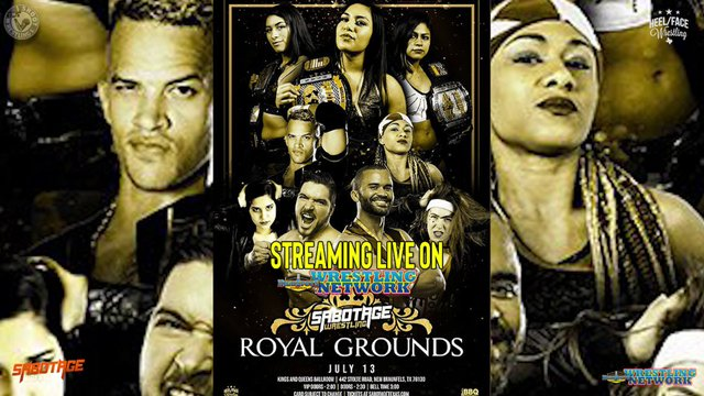 Sabotage Wrestling: Royal Grounds IPPV Replay
