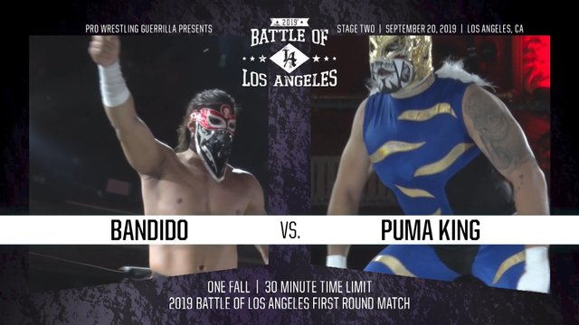 PWG: BOLA 2019 (Night 2)