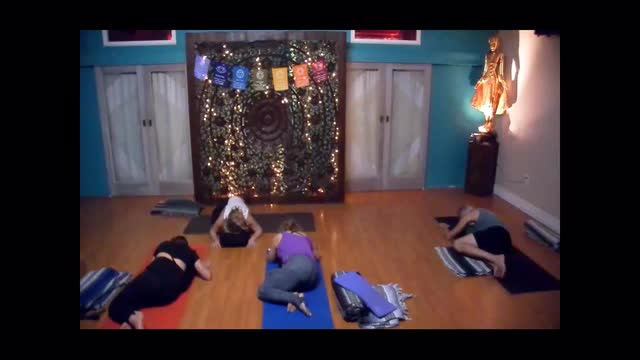 Relax Deeply Yoga with Molly Masaoka: Post Thanksgiving Day Practice