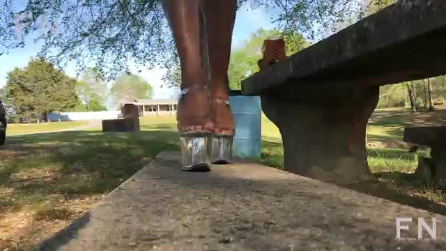 Mz Leggs Feet In Heels
