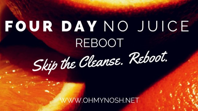 "Four Day ""No Juice"" Reboot"