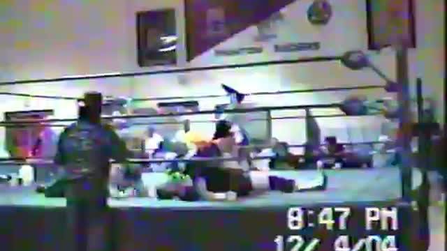 J T Hott vs Backstreet Midsouth Title
