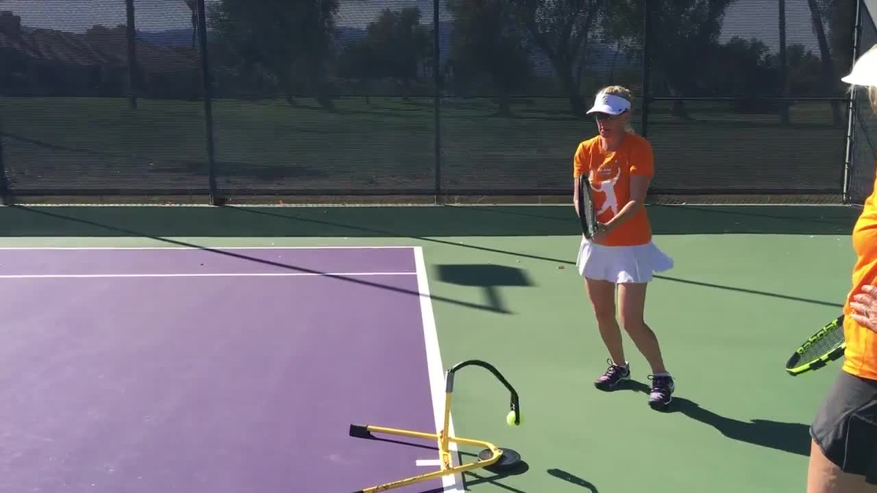 Eye Coach 6 2 Handed Backhand Timing