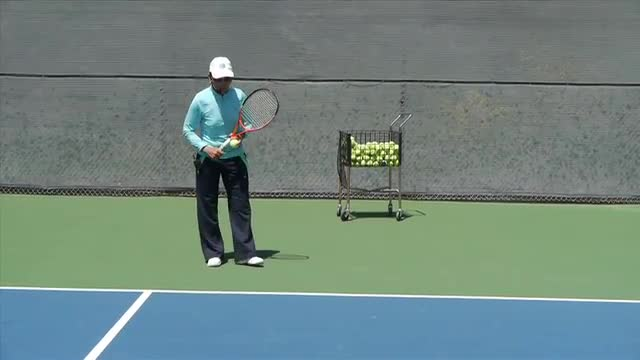 Developing Your Return of Serve Routine