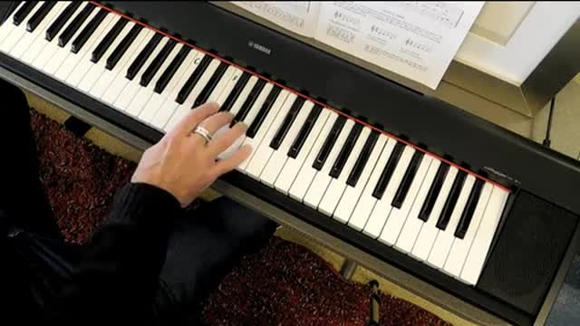 "Piano 101:   Lesson 1 - ""Lean On Me"""