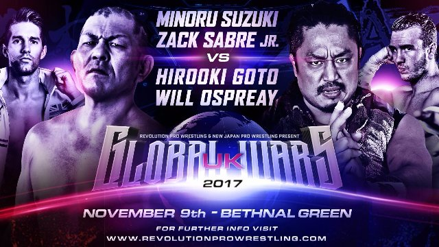 Global Wars UK 2017 Night 1