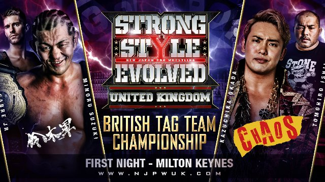 Strong Style Evolved UK Night 1