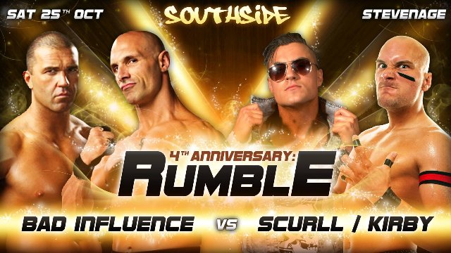 Southside Wrestling: 4th Anniversary Show (25/10/14)