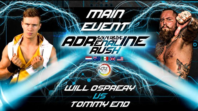 Southside Wrestling: Adrenaline Rush 2016 (30/09/16)