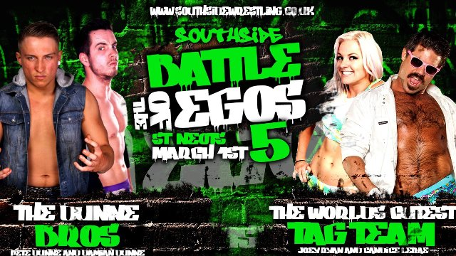Southside Wrestling: Battle of The Egos 5 (01/03/2015)