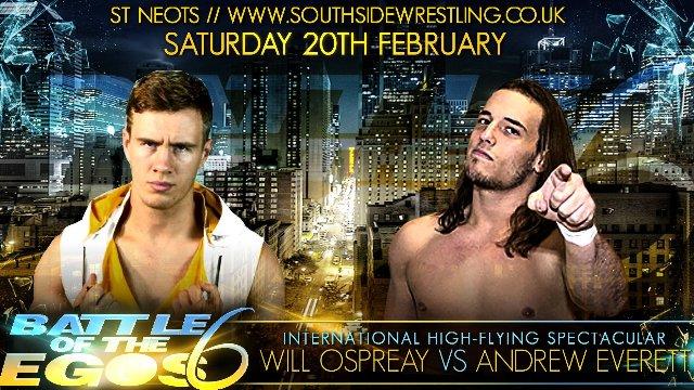 Southside Wrestling: Battle of The Egos 6 (20/02/16)