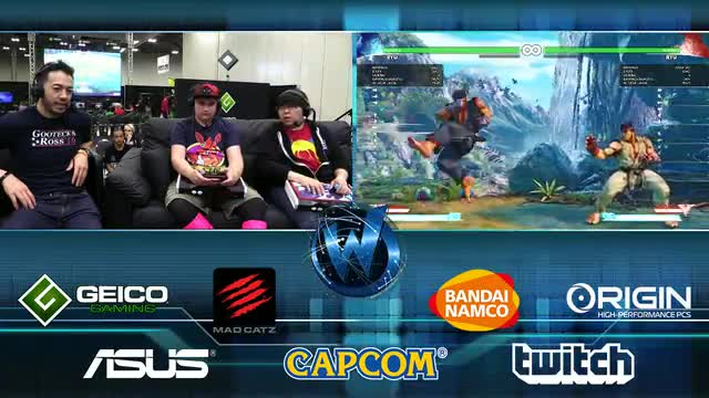 Street Fighter V Boot Camp w/ @gootecks & Justin Wong @JWonggg - @wizardworldgame Columbus Day 2