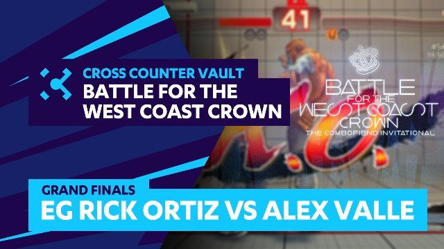Battle for the West Coast Crown: Grand Finals - EG Ricki Ortiz vs Alex Valle