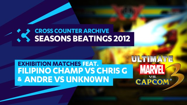 Seasons Beatings 2012: Exhibition Matches - Filipino Champ vs. Chris G.   Andre vs. unkn0wn