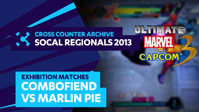 SoCal Regionals 2013 Exhibition Matches: UMVC3 - Combofiend vs. Marlin Pie