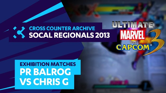 SoCal Regionals 2013 Exhibition Matches: UMVC3 - PR Balrog vs. Chris G