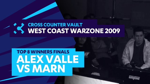 West Coast Warzone 2009: SF4 Top 8 Winners Finals - Alex Valle (Ryu) vs. Marn (C.Viper)